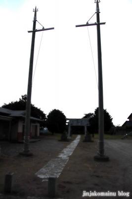 木立八幡神社 (幸手市木立)1