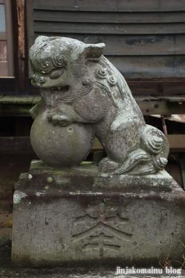 鷲神社 (加須市麦倉)7