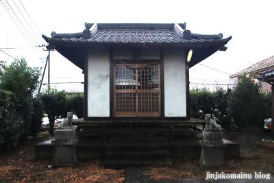鷲神社  (加須市小野袋)2