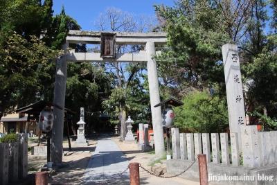 西堤神社 (東大阪市西堤)1