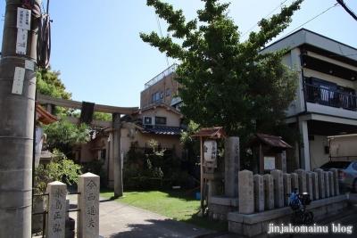 菅原神社(東大阪市新家)1
