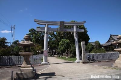 若江鏡神社(東大阪市若江南町)1