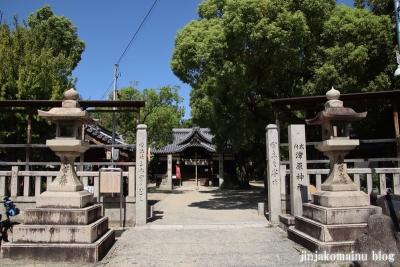 津原神社(東大阪市花園本町)1