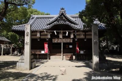 津原神社(東大阪市花園本町)6