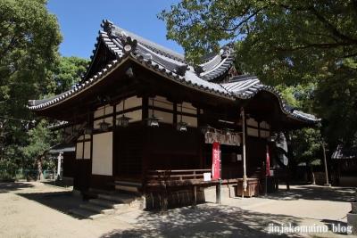 津原神社(東大阪市花園本町)7