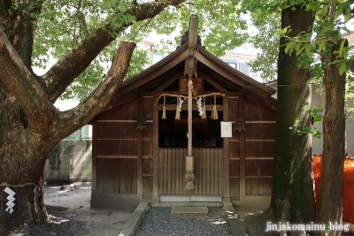 津原神社(東大阪市花園本町)12