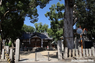 池島神社(東大阪市池島町)1