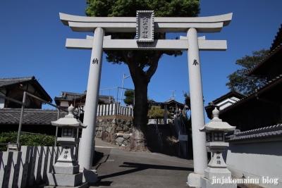 大賀世神社(東大阪市横小路町)1