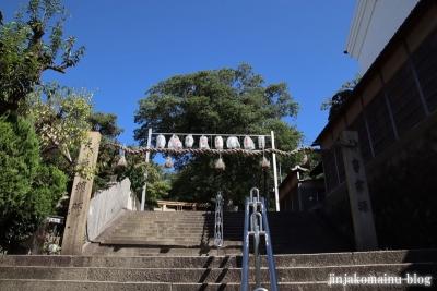 牧岡神社(東大阪市出雲井町)1