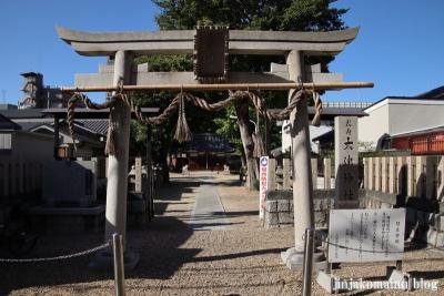 大津神社(東大阪市水走)3