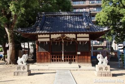 大津神社(東大阪市水走)8