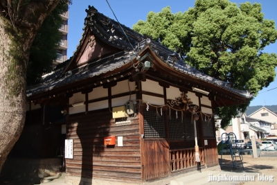 大津神社(東大阪市水走)11