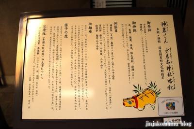 少彦名神社(大阪市中央区道修町)2