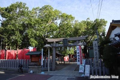 志紀長吉神社(大阪市平野区長吉長原)3