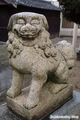 小松神社(大阪市平野区瓜破東)10