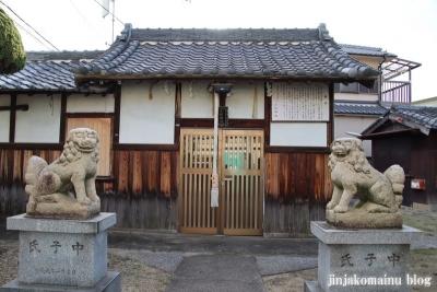 小松神社(大阪市平野区瓜破東)4