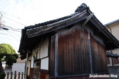 小松神社(大阪市平野区瓜破東)5