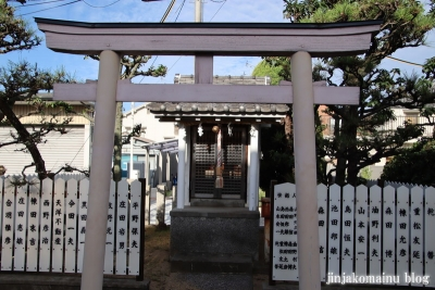 小松神社(大阪市平野区瓜破東)7