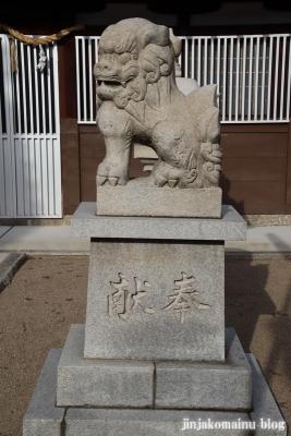 西瓜破天神社(大阪市平野区瓜破)8