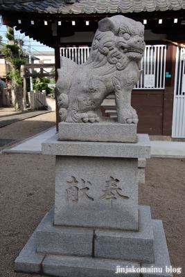 西瓜破天神社(大阪市平野区瓜破)12