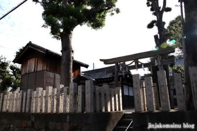 西瓜破天神社(大阪市平野区瓜破)1