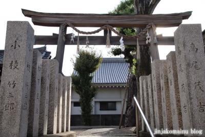 西瓜破天神社(大阪市平野区瓜破)2