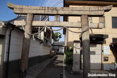 西瓜破天神社(大阪市平野区瓜破)3