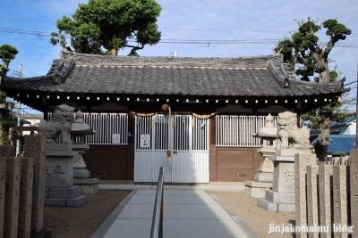 西瓜破天神社(大阪市平野区瓜破)5
