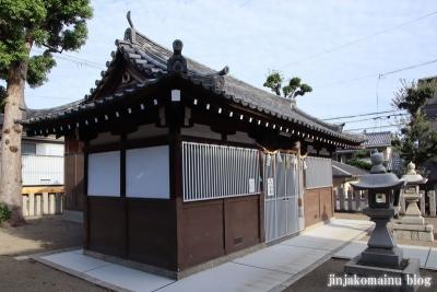 西瓜破天神社(大阪市平野区瓜破)6