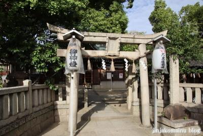 素盞嗚尊神社(大阪市東住吉区鷹合)1