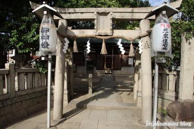 素盞嗚尊神社(大阪市東住吉区鷹合)3