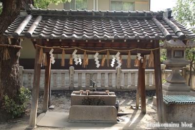 素盞嗚尊神社(大阪市東住吉区鷹合)5