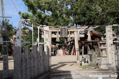保利神社(大阪市住吉区長居東)1
