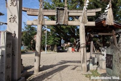保利神社(大阪市住吉区長居東)3