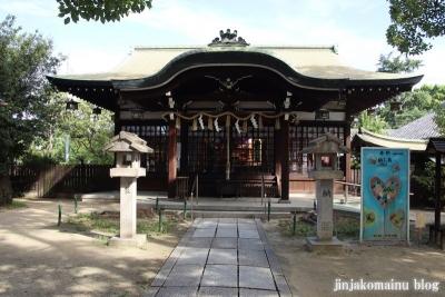 神須牟地神社(大阪市住吉区長居西)8