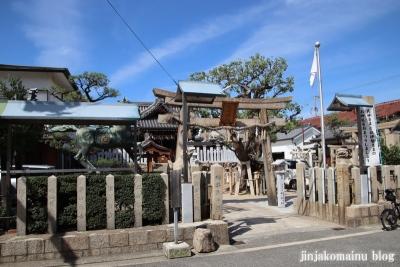 高崎神社(大阪市住之江区南加賀屋)1