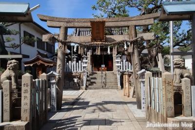 高崎神社(大阪市住之江区南加賀屋)2