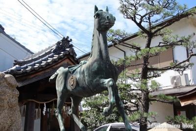 高崎神社(大阪市住之江区南加賀屋)5