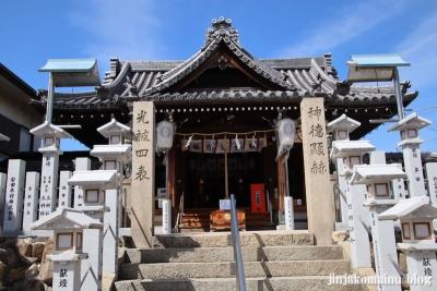 高崎神社(大阪市住之江区南加賀屋)7