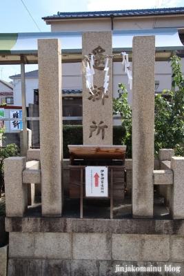 高崎神社(大阪市住之江区南加賀屋)10