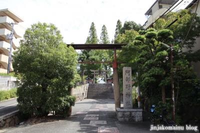 阿部野神社(大阪市阿倍野区北畠)1
