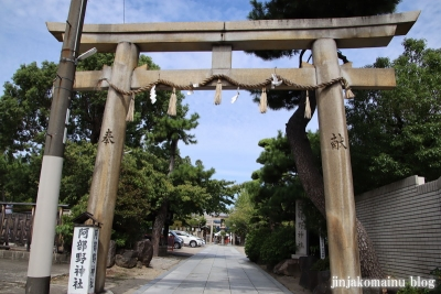 阿部野神社(大阪市阿倍野区北畠)13
