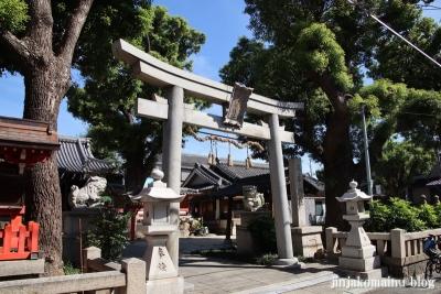 高砂神社(大阪市住之江区北島)1