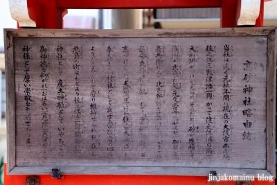 高砂神社(大阪市住之江区北島)36