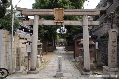 阿倍王子神社(大阪市阿倍野区阿倍野元町)3