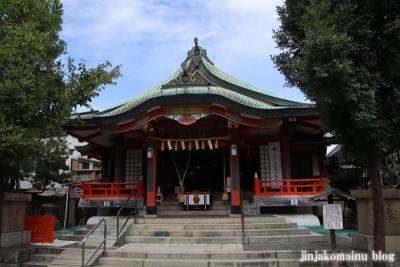 阿倍王子神社(大阪市阿倍野区阿倍野元町)10