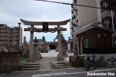 榎神社(大阪市東住吉区北田辺)1