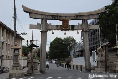 抗全神社(大阪市平野区平野宮町)1