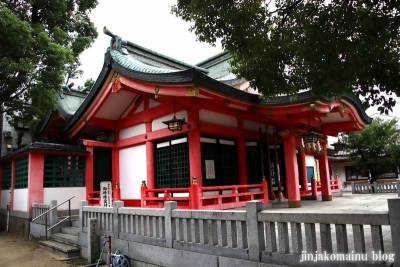 長瀬神社(東大阪市衣摺)8