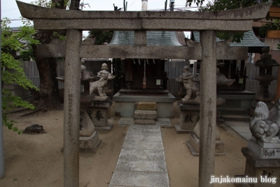 長瀬神社(東大阪市衣摺)42